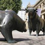 Bulle und Bär Börse Frankfurt